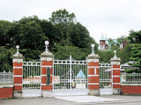 Main gate of the Eighth Higher School